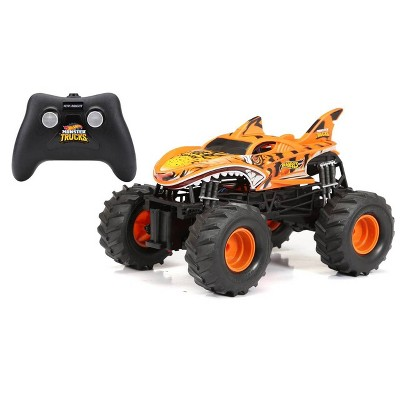 New Bright R/C 1:15 Scale Hot Wheels Monster Truck - Tiger Shark