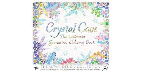 Crystal Cave: The Ultimate Geometric Adult Coloring Book - image 1 of 1
