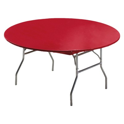 """Stay Put Tablecover Red, 60"""""""