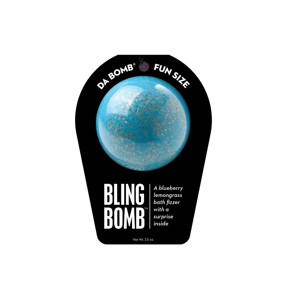 Image of Da Bomb Bath Fizzers Bling Bath Bomb - 3.5oz