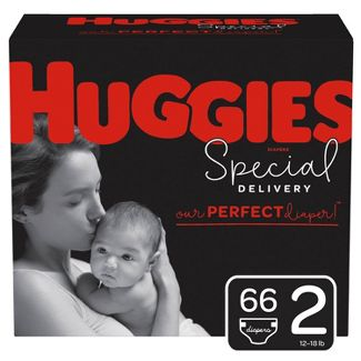 Huggies Special Delivery Disposable Diapers Super Pack - Size 2 - 66ct