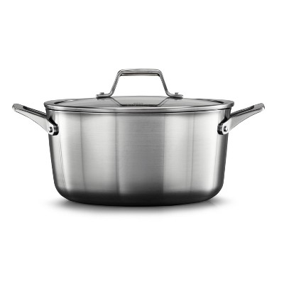 Calphalon Premier Stainless Steel 6qt Stock Pot