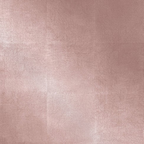 Metallic Leaf Peel and Stick Wallpaper Pink - Project 62™ - image 1 of 4