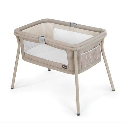 Chicco Lullago Portable Bassinet - Sand