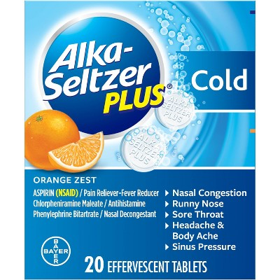 Alka-Seltzer Plus Cold