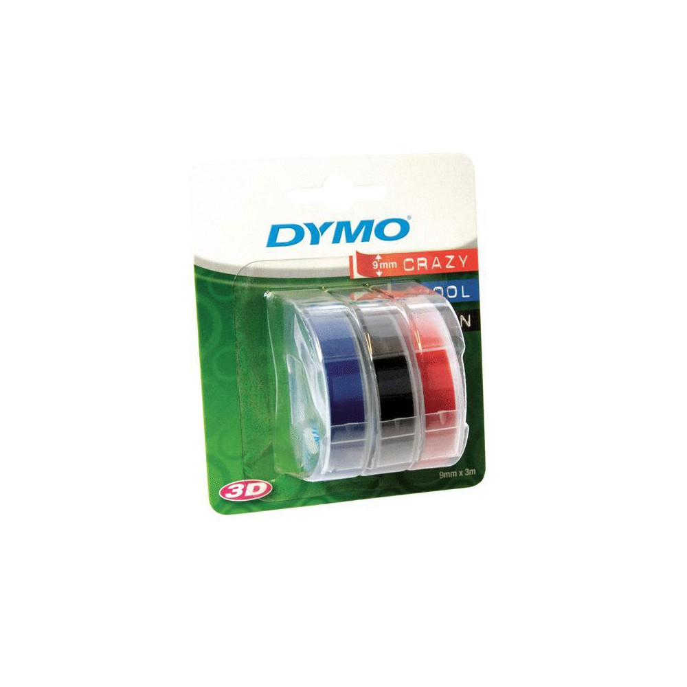 Image of Label Maker Tape Cartridges 3ct Multicolor - Dymo