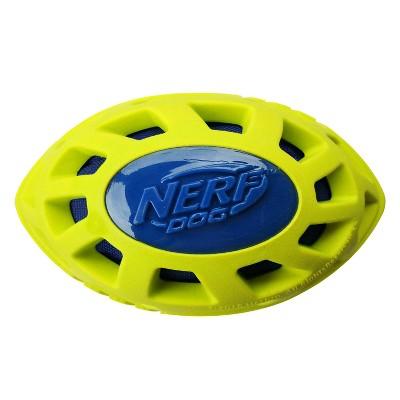 NERF Nerf Megaton Crunch Football Dog Toy - M