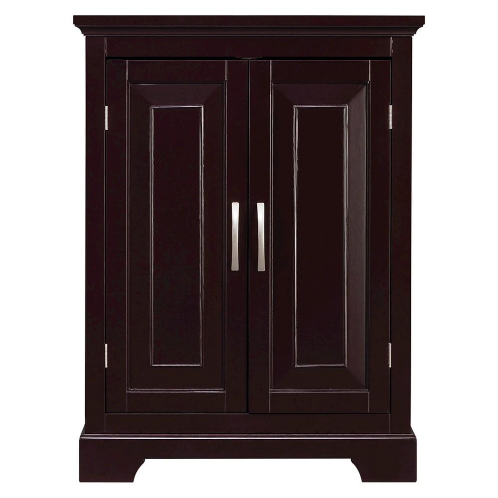 32x24 Bathroom Wall Cabinet Dark Espresso Brown - Elegant Home Fashions