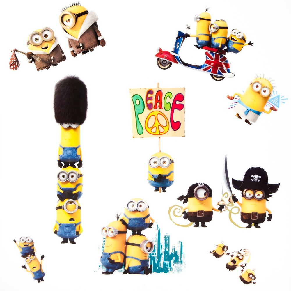 Image of Minions Wall Decals