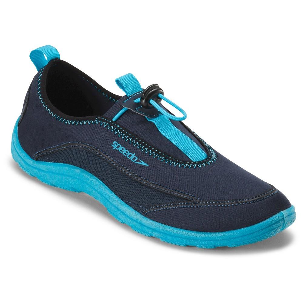 Speedo Adult Men's Surfwalker Water Shoes - Navy (Blue) (Large)