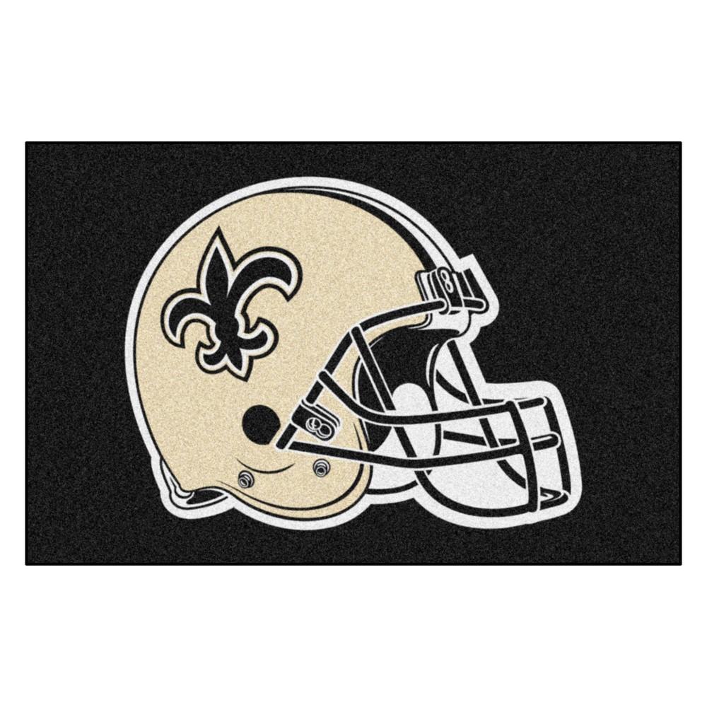 New Orleans Saints Fan Mats Starter Rug 20 X30