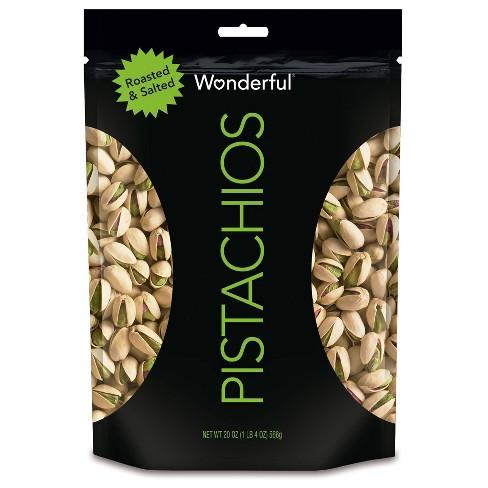 Wonderful Pistachios Roasted & Salted - 20oz - image 1 of 3