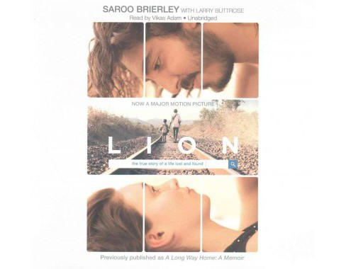 Lion : Library Edition (Unabridged) (CD/Spoken Word) (Saroo Brierley) - image 1 of 1