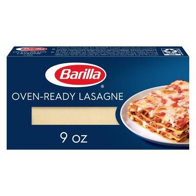 Barilla Oven Ready Lasagna Noodles - 9oz
