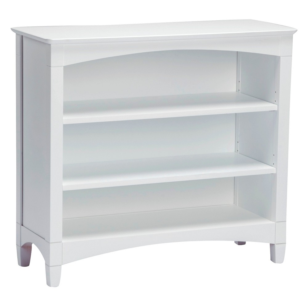 Kids Bookcase White - Bolton Furniture