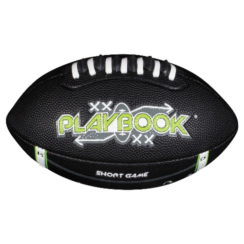 Franklin Sports Junior Playbook® Football - Black - image 1 of 3