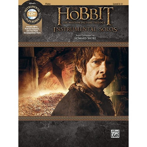 Alfred The Hobbit - The Motion Picture Trilogy Instrumental Solos Flute Book & CD Level 2-3 Songbook - image 1 of 1