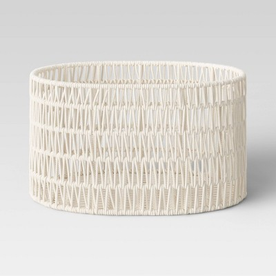 """21"""" x 16"""" x 11"""" Oval Rope Basket - Project 62™"""