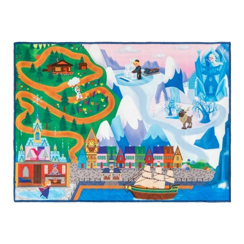 """Frozen 40""""x54"""" Game Rug - image 1 of 3"""