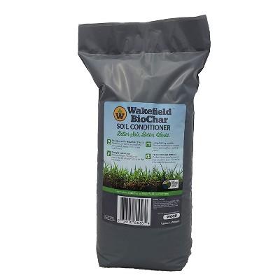 Wakefield 1 Gallon Premium Biochar Organic Pine Tree Bark Garden Soil Conditioner Amendment
