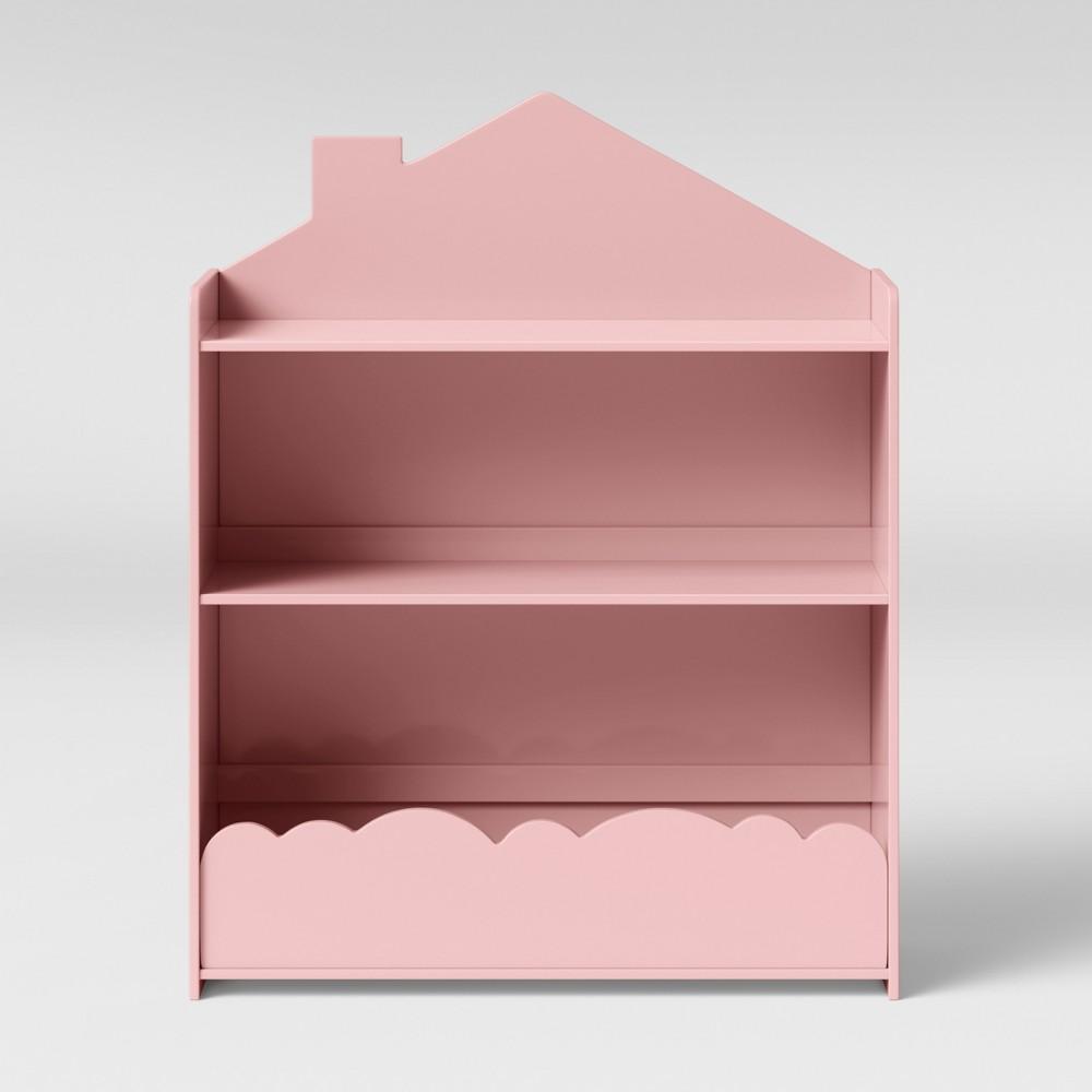 Image of Kids Cloud Bookcase Pink - Pillowfort