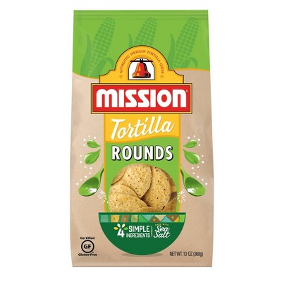 Tortilla & Corn Chips: Mission Tortilla Rounds