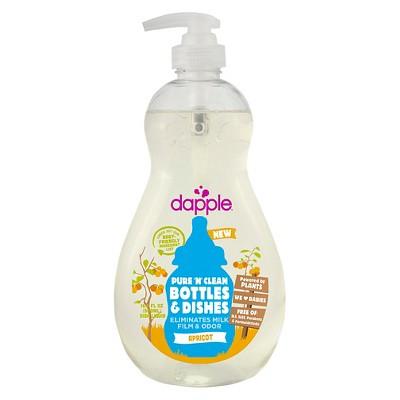 Dapple 16.9oz Apricot Baby Bottle & Dish Liquid