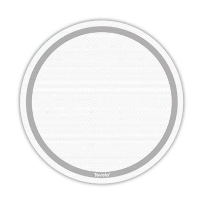 "Tovolo TrueBake 11.25"" Round Baking Mat Oyster Gray 13027-201"