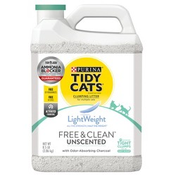 Tidy Cats Free & Clean Unscented Lightweight Cat Litter - 8.5lb