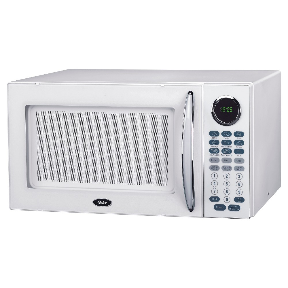 Oster 1.1 Cu. Ft. 1000 Watt Microwave Oven – White OGB81101 50398899