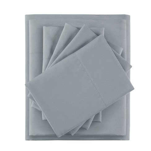 6pc Microfiber Sheet Set with Side Storage Pockets - image 1 of 5