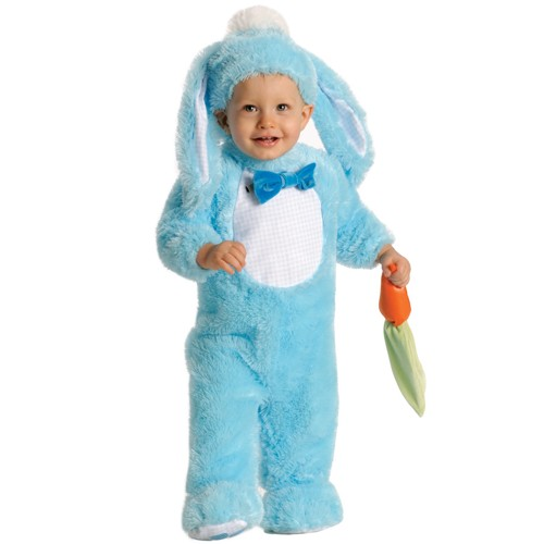 Halloween Baby Bunny Costume Blue 6-12 M, Adult Unisex, Size: Medium