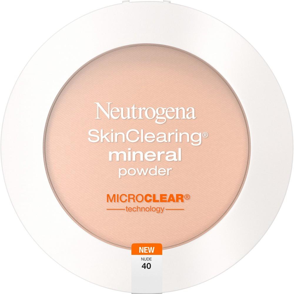 Neutrogena Skin Clearing Pressed Powder - 40 Nude, Nude 40