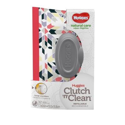 Huggies One & Done Clutch 'n' Clean Wipes Wristlet - 32ct