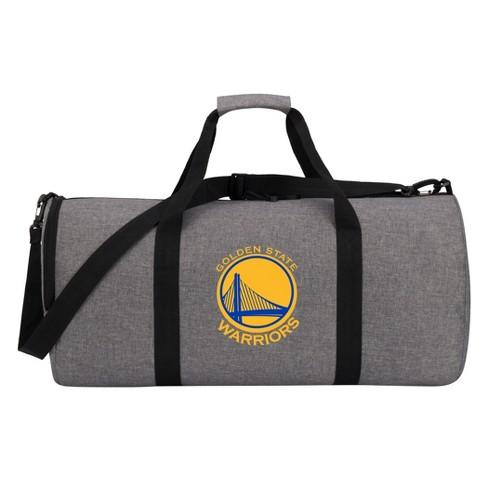 NBA Golden State Warriors Gray Barrel Duffel Bag - image 1 of 4
