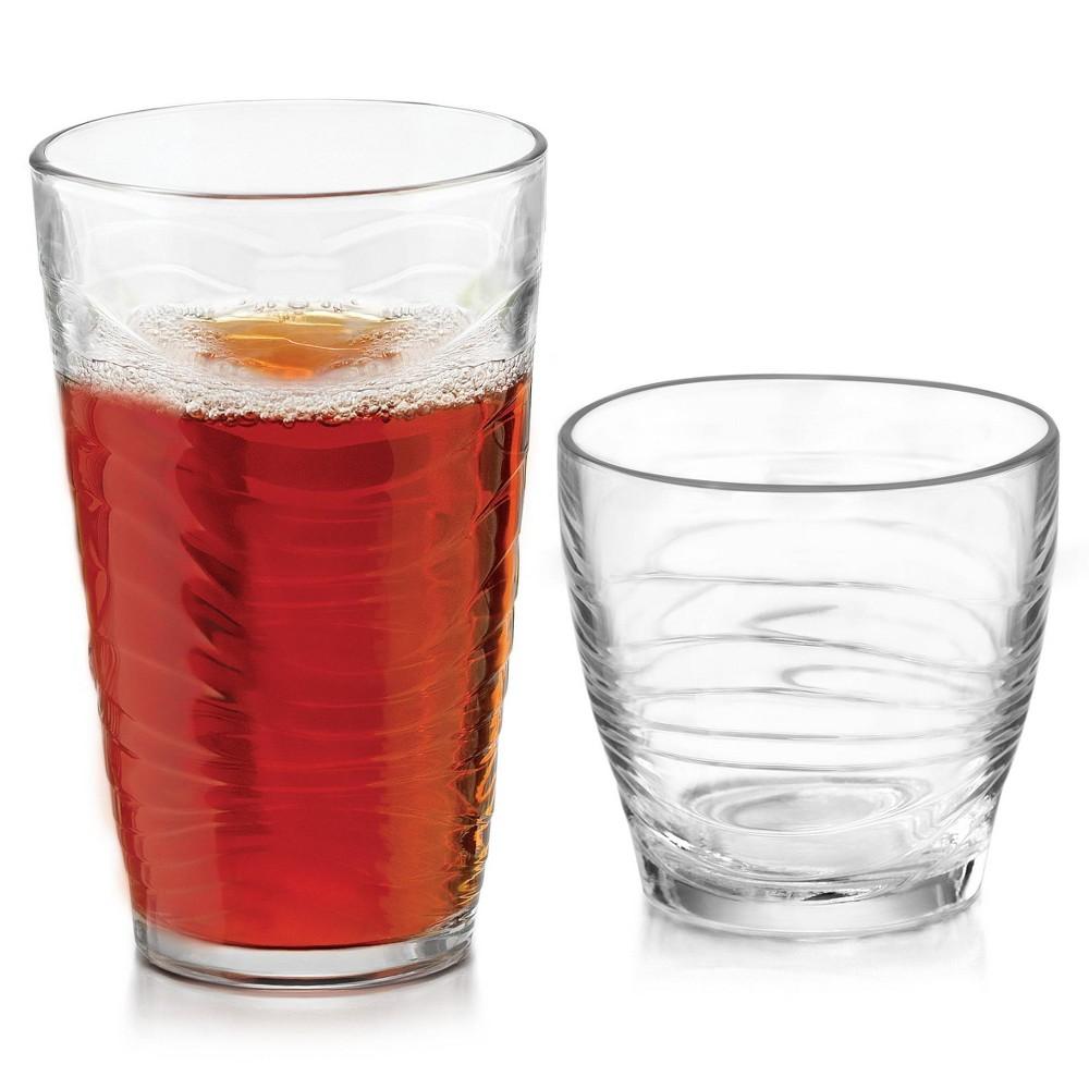 Image of Libbey Orbita Glass 16pc Drinkware Set