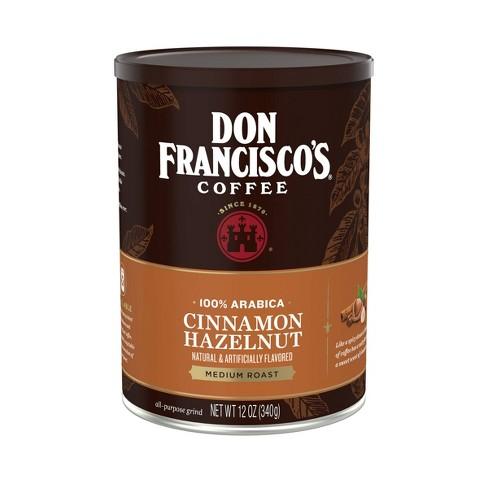 Don Francisco's Cinnamon Hazelnut Medium Roast Ground Coffee - 12oz - image 1 of 4