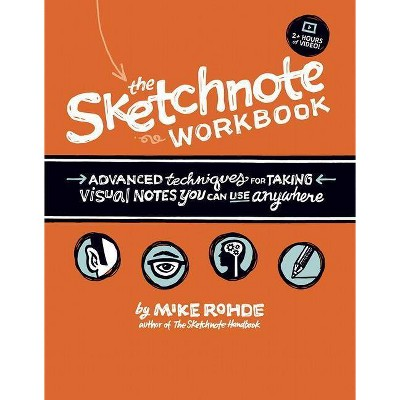 The Sketchnote Workbook - by  Mike Rohde (Mixed Media Product)