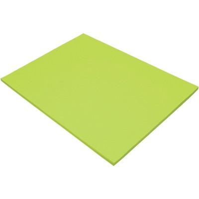 Tru-Ray Sulphite Construction Paper, 18 x 24 Inches, Brilliant Lime, 50 Sheets