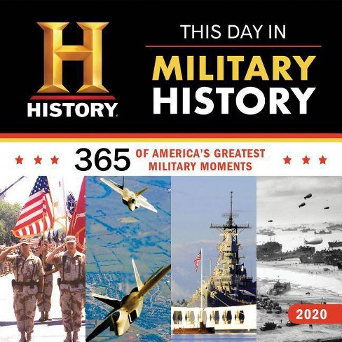 Military Calendar 2020 2020 History Channel This Day In Military History Wall Calendar