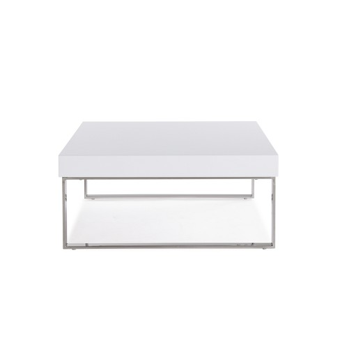 Echo Cocktail Table White Handy Living Target