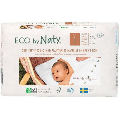 ECO by Naty Jumbo Pack Diapers - Size 1 - 26ct