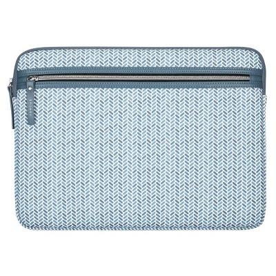 """Targus 13-14"""" Herringbone Laptop Sleeve - Blue"""
