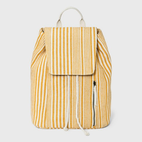 Striped Flap Backpack - Universal Thread™ - image 1 of 4