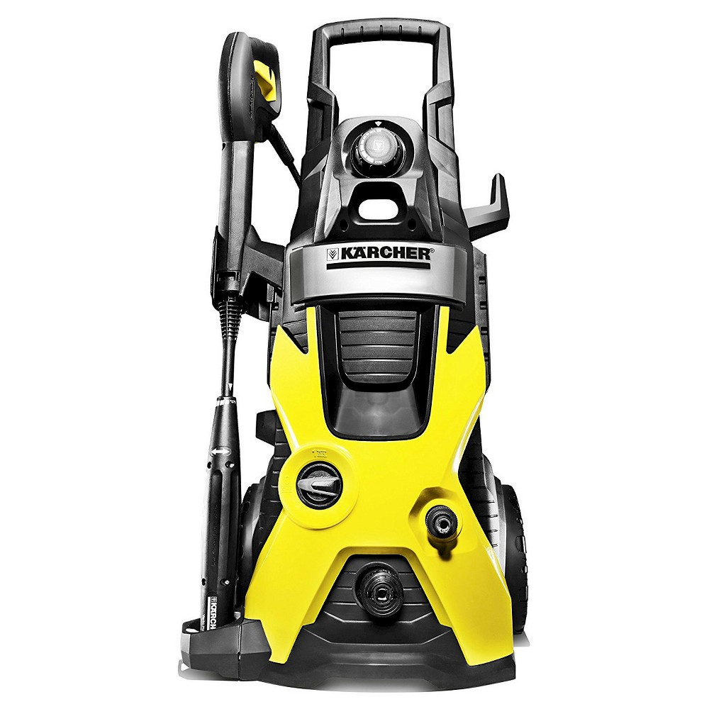 Image of 120 Volts, 1560 Watts K5 2000 Psi 1.5 Gpm Electric Power Pressure Washer - Yellow - Karcher