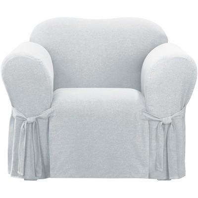 Farmhouse Basketweave Chair Slipcover - Sure Fit