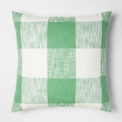 Green Gingham Throw Pillow - Threshold™