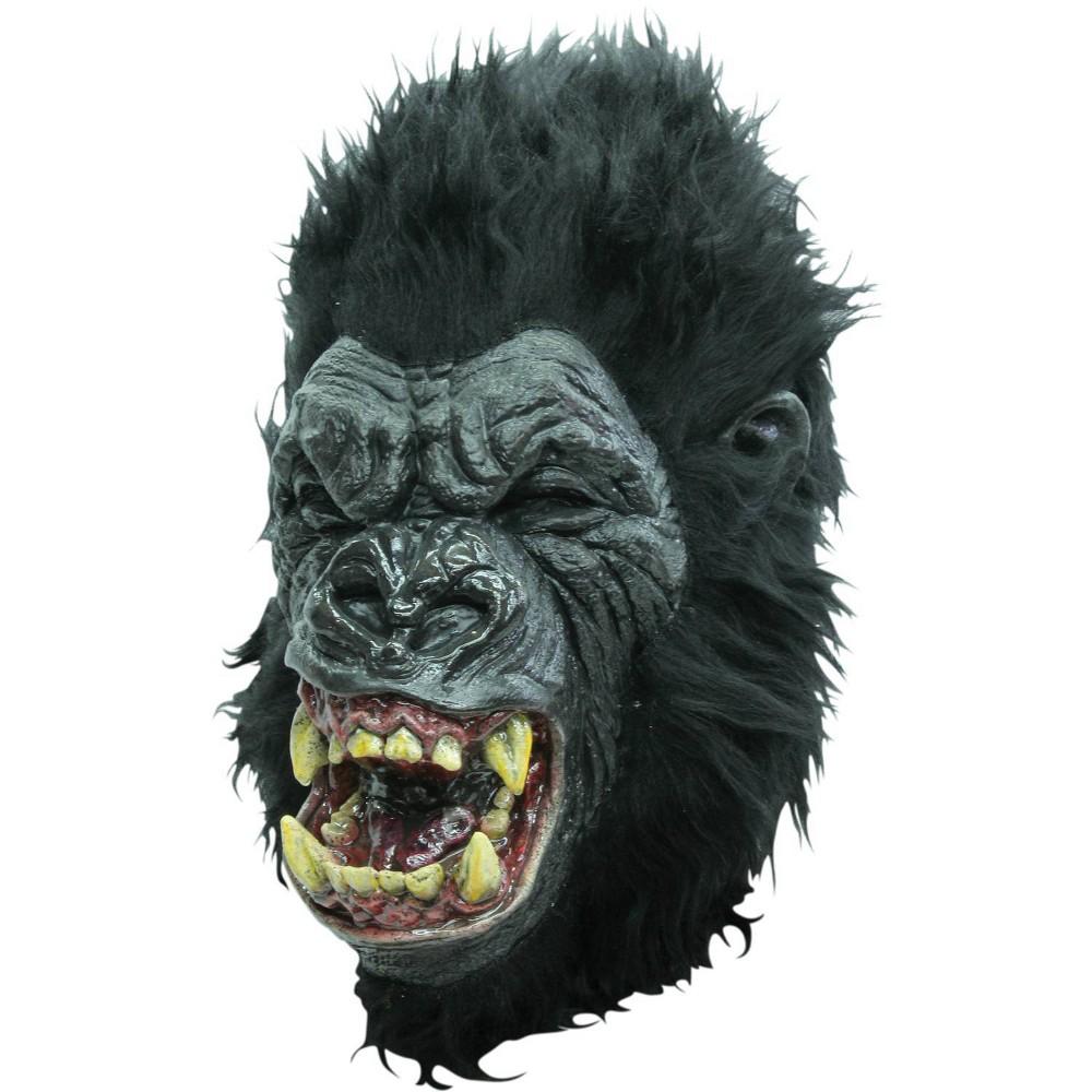 Image of Rage Ape Latex Mask Black