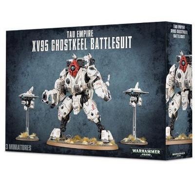 Warhammer XV95 Ghostkeel Battlesuit Miniatures Box Set