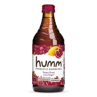 Humm Pomegranate Lemonade Kombucha - 14 fl oz